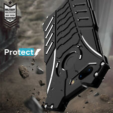 For Oneplus 6T 6 5T R-JUST Metal Aluminum Heavy Duty Shockproof Back Cover Case