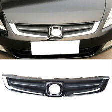 1pcs For Honda Accord 7th 2005-2007 Car ABS Front Bumper Cover Grid Upper Grille