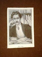 Lo scrittore Paolo Orano di Roma nel 1908
