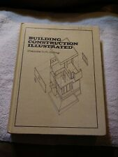 Vintage 1975 Book Architecture Home Design BUILDING CONSTRUCTION ILLUSTRATED