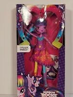 My Little Pony Equestria Girls Twilight Sparkle Doll Rainbow Rocks FiM MLP G4 FS