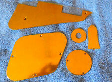 Gibson /Les Paul Pickguard and complete cover set -solid BRASS and polished