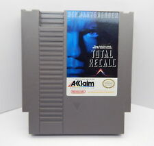 Nintendo NES Total Recall Game Cartridge, Works R13367