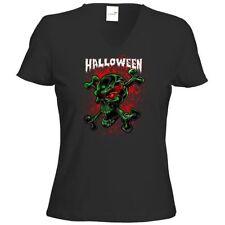 Normalgröße Totenkopf Kurzarm Damen-T-Shirts