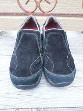Merrell Kamori Moc Black Suede Slip On Shoes Women's Size 10