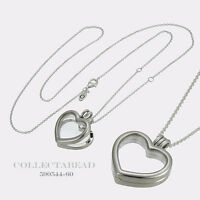 61dc358cc Authentic Pandora Sterling Silver Heart Swirls CZ Choker 397129CZ-38 ...