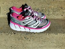 Hoka One One Conquest 2 Running Shoes - Women's size 9.5 pink /silver