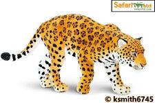 Safari JAGUAR solid plastic toy wild zoo animal cat predator * NEW *💥