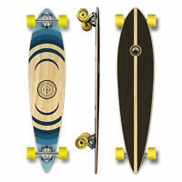 YOCAHER Pintail Longboard Complete - Earth Series - Ripple (GCPT123)