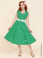 Halter Neck Spotted Dresses Midi