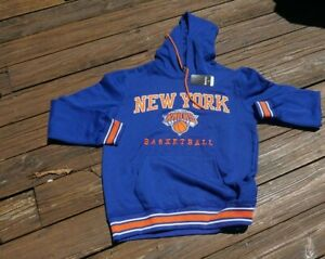New York Knicks Adult Large Blue Pullover Hoodie new with tags