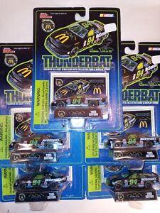 Lot of 5 NEW!! 1995 Bill Elliot #94 Thunderbat McDonalds Nascar Batman Returns