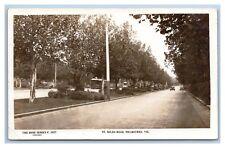 AUSTRALIA VICTORIA ST KILDA ROAD MELBOURNE REAL PHOTO 1922 ROSE SERIES 3827