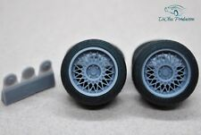 1/24 wheels 16 inch Borbet B with tires for Tamiya Aoshima Hasegawa