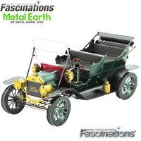 Metal Earth 1908 Ford Model T 1:37 Scale 3D DIY Steel Model Hobby Building Kit