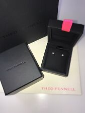 Theo Fennell 18ct white gold diamond stud earrings. Brand new in box. Christmas.