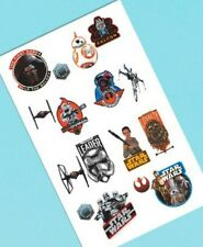 Star Wars Force Awakens VII Temporary Tattoos 16 Party Favors Tattoo