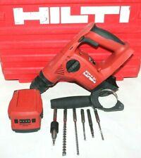 Hilti Te4 A22 Rotary Hammer Withc4 36 Acs B2233 Battery 6 Bits Amp Case Free Ship