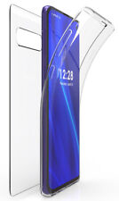 Tri-Max Clear Screen Guard Full Body TPU Wrap Case Cover for Samsung Galaxy S10