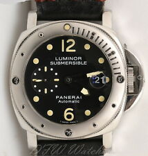 Panerai Luminor Marina Submersible PAM 24 Tritium Patina pam00024 Box Card Sub