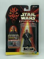 NEW 1998 Hasbro Star Wars Darth Maul Action Figure Episode 1 Commtech Chip