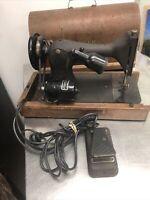 Vintage Singer Sewing Machine Model 128 1948