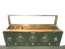 vintage  FREED EISEMANN NR-5 RADIO:  5 GLOBE tubes - RESTORED 1993 - untested