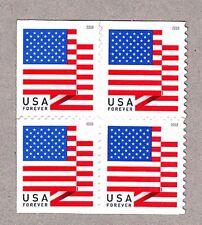 5263 (BCA) BLOCK Of 4  2018 US Flags (BCA) MNH