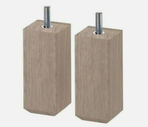 Ikea Stubbarp Leg Brown 2 Pack Furniture Replacement 402.935.67 New For Besta