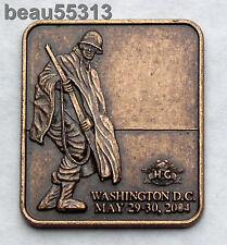 HARLEY DAVIDSON OWNERS GROUP HOG 2004 WASHINGTON DC ROLLING THUNDER POW MIA PIN