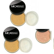 Mica Beauty 2x Mineral Foundation MF-5  CAPPUCCINO +Free Matching Bronzer