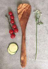 Large Spatula Olive Wood / Flipper / Pancake Turner / handcarved, 14.5''