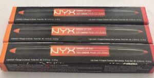 3 NYX Ombre Lip Duo- OLD05, Peaches & Dream