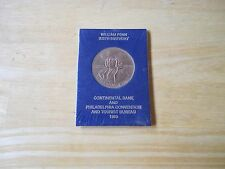 William Penn 325th Birthday Medal, Continental Bank & Phila. Convention SEALED