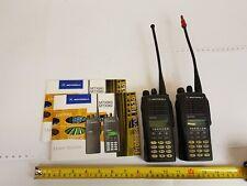 Motorola MTX960 Portable Two-way Radio - Qty 2 - Used