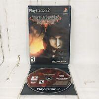 Dirge of Cerberus Final Fantasy VII FF 7 Sony PlayStation 2 2006 PS2