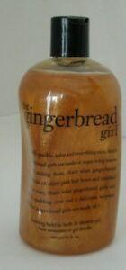 Philosophy The Gingerbread Girl Foaming Bubble Bath & Shower Gel 16 oz. New