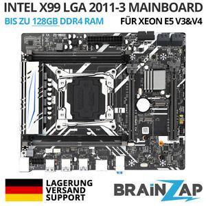 Intel X99 Sockel LGA 2011-3 Mainboard - M.2 PCI-Express 3.0 x16 - RDIMM Xeon-E5