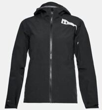 NWT $130 Under Armour Women's Trektic Jacket Size S Black windproof