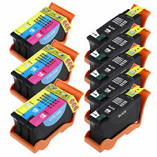 8 Pack New Ink Cartridge For Dell Series 21/22/23 V313 V313w P513W