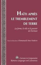 HANTI APRFS LE TREMBLEMENT DE TERRE