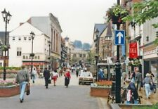 PHOTO  LINCOLNSHIRE  LINCOLN HIGH STREET 1992 BEFORE PEDESTRIANISATION