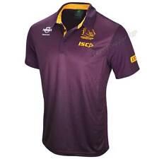 Brisbane Broncos 2019 NRL Mens Sublimated Polo Shirt Sizes S-5XL BNWT