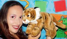 "Animal Alley TOYSRUS TIGER 15"" Plush STUFFED Toy R US STRIPES STRIPED LOVEY"