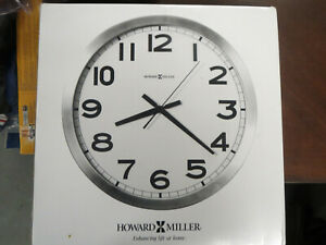 "Howard Miller Round Wall Clock 15-3/4"" ~NEW~"
