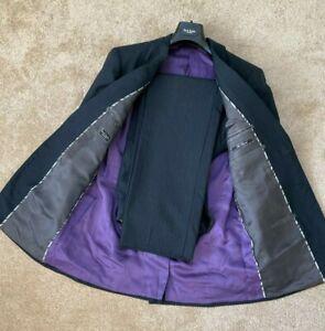 Paul Smith London Marineblau Subtil Streifen 2 Knöpfe Einreihig Anzug