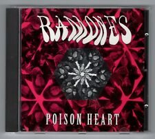 RARE CD PROMO ★ RAMONES - POISON HEART ★ PROMOTIONAL CD SINGLE (ANNEE 1992)