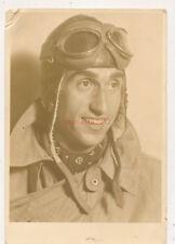 Photo, pilote avec lederhelm et lunettes (N) 19750