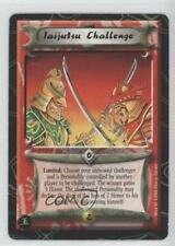 1998 Legend of the Five Rings CCG - Jade Edition NoN Laijutsu Challenge Card 0b5