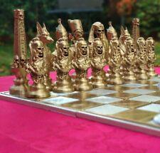 option board Gold /& Silver égyptien vs morts-vivants Set Nouveau spécial échecs
